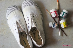 Handpainted shoes!!